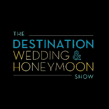destination wedding and honeymoon show logo