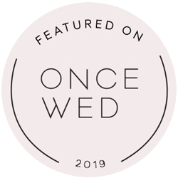 Once wed badge